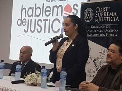 Hablemos de Justicia en Caazapá
