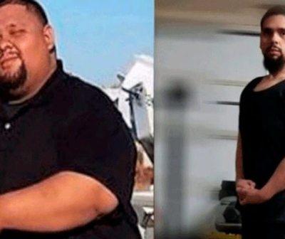 Pierde 80 kilos para salvarle la vida a su hermana.
