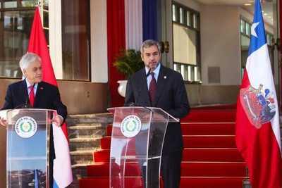 Mandatarios de Paraguay y Chile acuerdan próxima reunión bilateral en marzo en Asunción