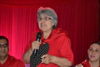 Corina Falcon dice que la AERS no se plegará a la movilización que la FEP convoca para mañana