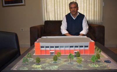 Proyectan construir un polideportivo municipal