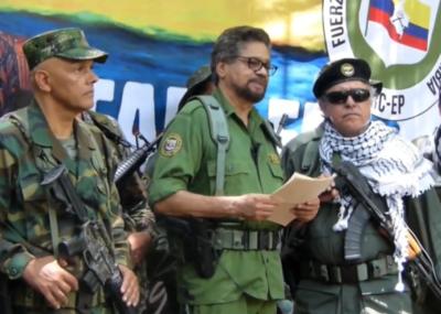 Líder disidente de las FARC anuncia nuevo levantamiento en armas