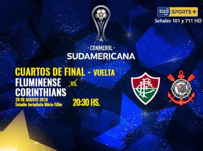 Fluminense y Corinthians definen el último semifinalista