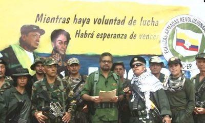 Exlíderes de las FARC de Colombia relanzan la lucha armada