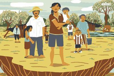 Los angaite: seres humanos sufren hambre y sed en medio de la desidia