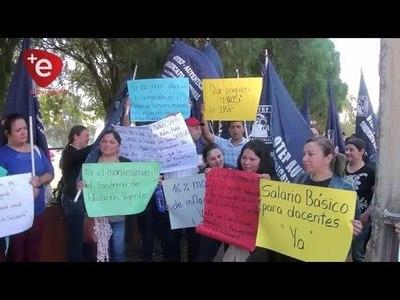 CONTINÚAN PROTESTAS DE DOCENTES A NIVEL NACIONAL POR REAJUSTE SALARIAL