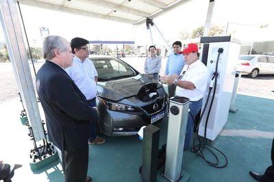 Ultiman detalles para habilitar primera electrolinera en Piribebuy