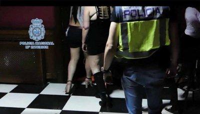 Desmantelan en España una red dedicada a prostituir mujeres paraguayas