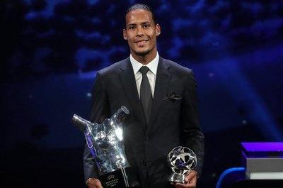 Van Dijk deja a Messi y Cristiano sin el premio a mejor jugador UEFA