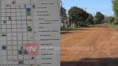 PROYECTAN 20 CUADRAS DE EMPEDRADO PARA CNEL. BOGADO