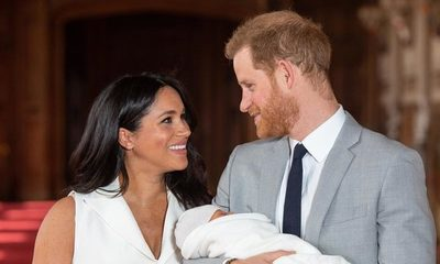 """""""Archie Harrison"""" el hijo de Meghan Markle y el Príncipe Harry de Inglaterra"""