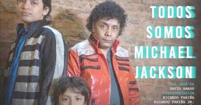 Jackson paraguayo se volvió teatrero