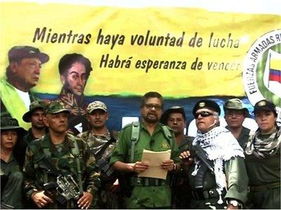 Los ex jefes de FARC  anuncian una nueva rebelión armada en Colombia