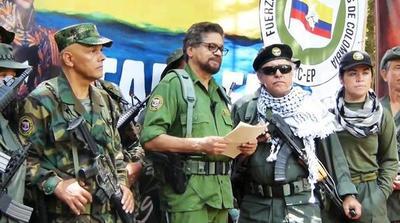 Exjefes de FARC anuncian nueva rebelión armada en Colombia