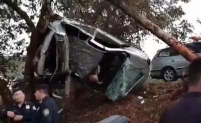 Dos fallecidos en accidente durante la madrugada