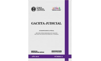 Publican segundo número de la Gaceta Judicial