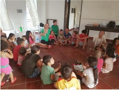Niños fernandinos recibieron a Salvemos Nuestra Infancia
