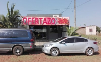 Brutal intento de asalto a tienda de ropas en Minga