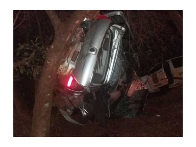 Terrible accidente deja dos fallecidos en Ciudad del Este