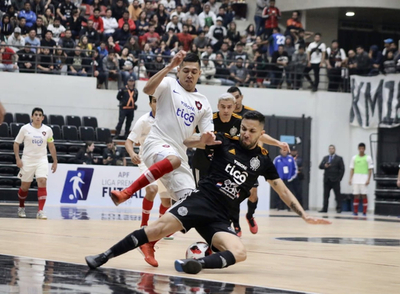 Cerro y Olimpia van por el título en futsal