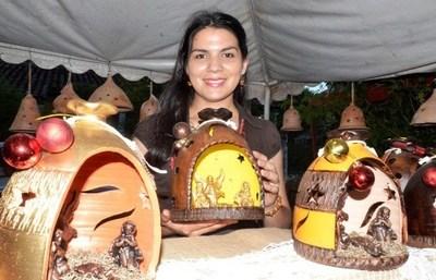 Aregüeña ofrece minipesebres rústicos para regalar por Navidad •