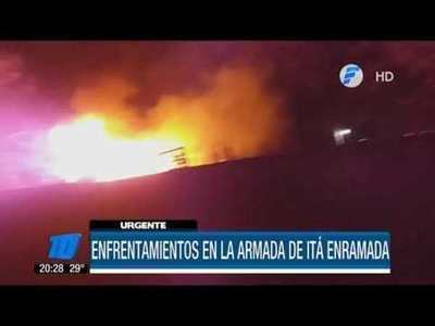 Enfrentamiento en la Armada paraguaya