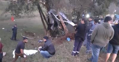 Día de dolor en la ruta: 6 muertos en accidentes