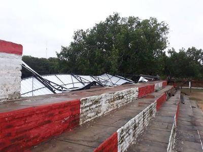 Temporal causó cuantiosos daños en Yabebyry