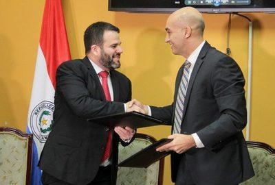 Bancard y el Ministerio de Salud Pública firman convenio