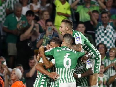 Betis se hace con su primera victoria ante el Leganés