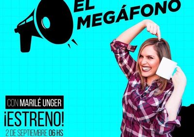 "Marilé Unger se apodera de ""El Megáfono"" en HEi"