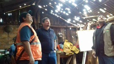 Varias familias afectadas por fuerte granizada en tres municipios de Itapúa