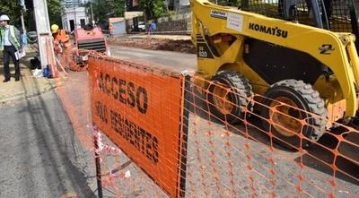 HOY / Atención conductores: anuncian nuevas obras de alcantarillado en Asunción a partir de mañana