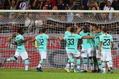 El líder Inter gana en Cagliari