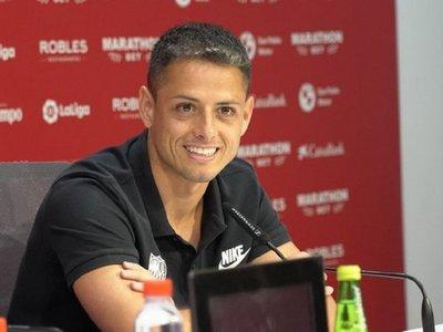 Chicharito, nuevo jugador del Sevilla hasta junio de 2022