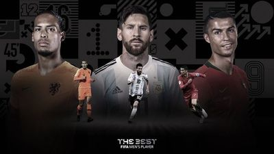 "Los finalistas al premio FIFA ""The Best"""