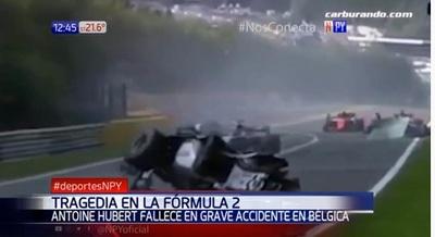 Piloto de automovilismo muere en plena carrera