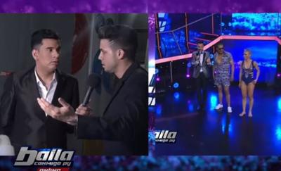 """""""El Monchi"""" y Leo pelean por una bailarina en """"Baila Conmigo"""""""