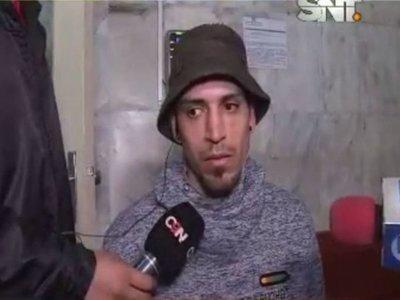 """Barra preso: """"El que murió era mi amigo"""""""