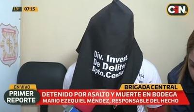 Capturan a sospechoso de fatal asalto en Villeta
