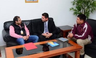 Prieto anunció apoyo para mejoras en el CRECE