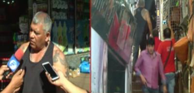 Turistas querían hacer compras y fueron asaltados