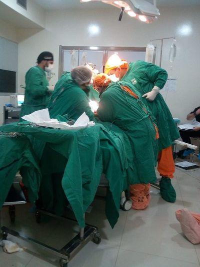 Quinto trasplante renal en el Hospital Nacional de Itauguá