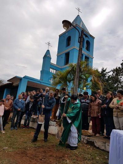 Calle'i: Construirán nuevo templo parroquial