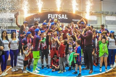 Cerro Porteño logra el pentacampeonato en Futsal FIFA