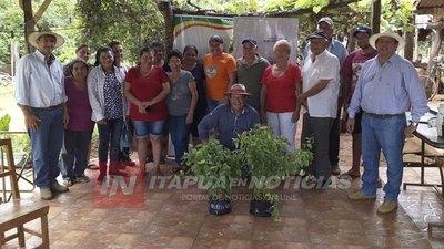 CNEL. BOGADO: INICIAN SEGUNDA ETAPA DEL PLAN FORESTAL EN EL DISTRITO