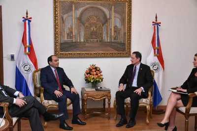 Paraguay y Estados Unidos proyectan acuerdos comerciales