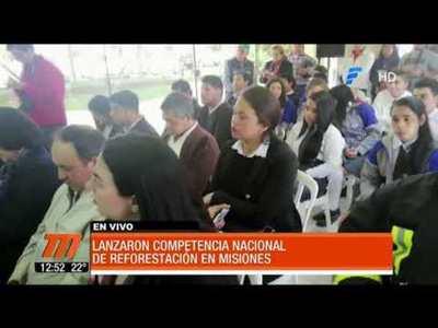 Lanzan competencia nacional de reforestación en Misiones