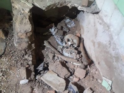 Restos óseos son encontrados en la casa del ex presidente Stroessner