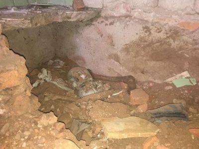 Convocan a investigadores del Enabis para levantar restos óseos hallados